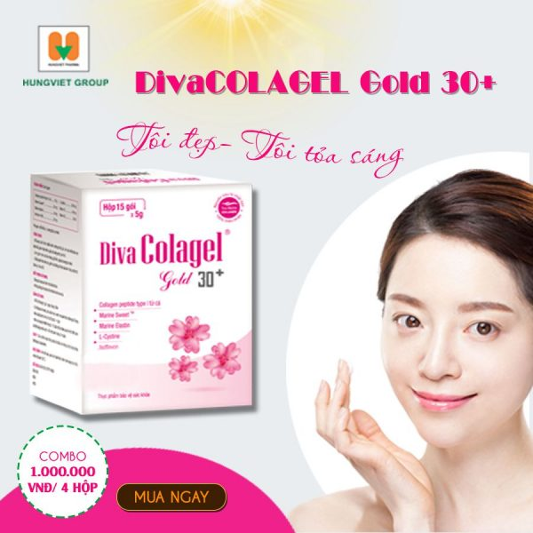 DivaColagel Gold 30+