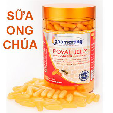 Boomerang Royal Jelly