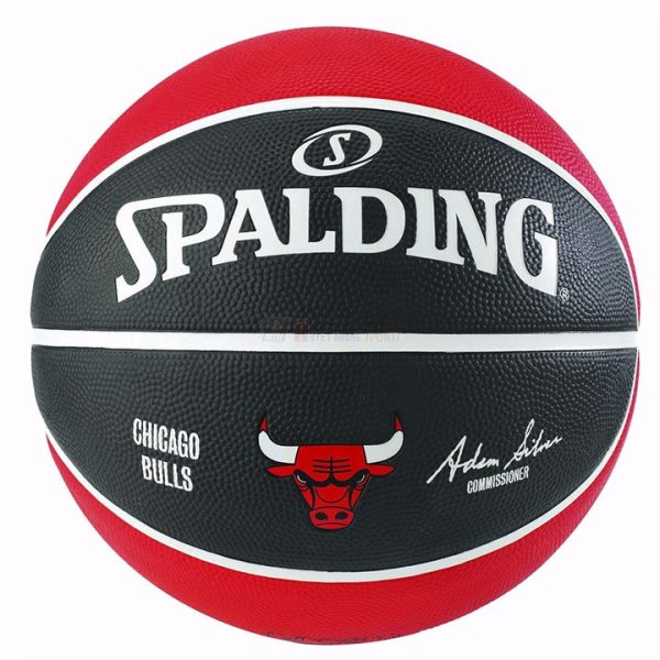 Bóng Rổ Spalding NBA Team Chicago Bulls Outdoor Size 7