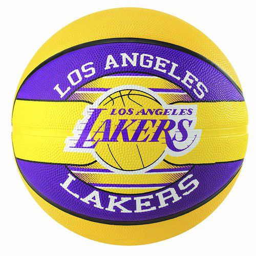 Bóng Rổ Spalding NBA Team - Lakers Outdoor Size7