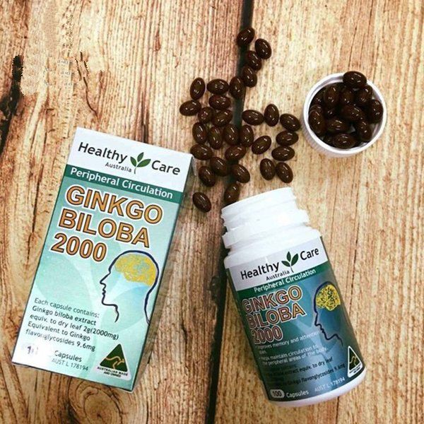 Healthy Care Ginkgo Biloba 2000